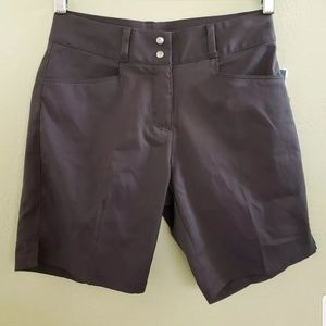 "Adidas Essential 7"" Shorts Gray Women's Size 0 NEW"